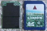 card  Kingston SD 4GB